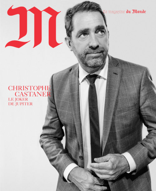 M le Monde - Christophe Castaner