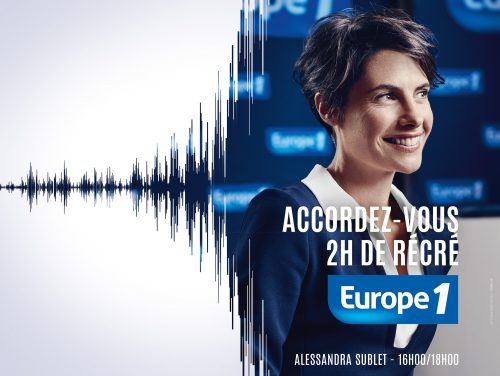 Europe 1 - Publication and poster campaign
