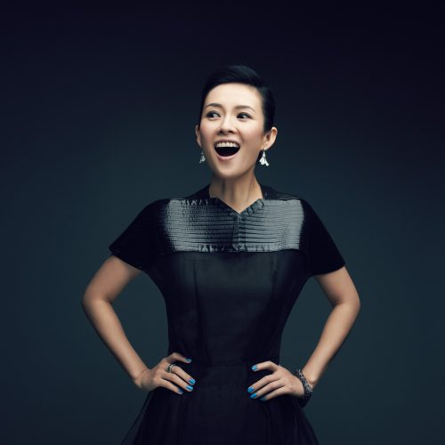 Zhang Ziyi Chinese film actress and model, Paris 2013.