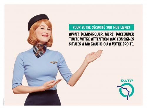 RATP - Security campaign