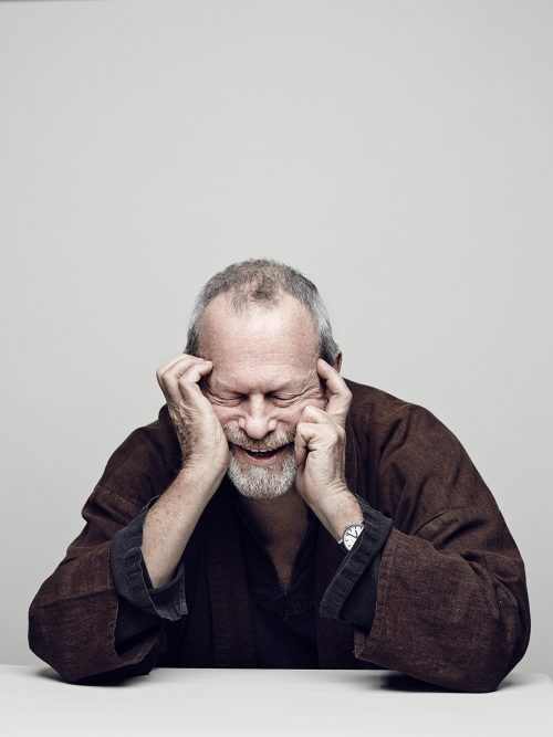 Terry Gilliam, American-born British screenwriter, film director, animator, actor and member of the Monty Python comedy troupe. Paris 2014.