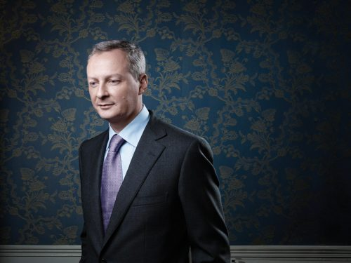 Bruno Le Maire, the French Minister of Food, Agriculture and Fis