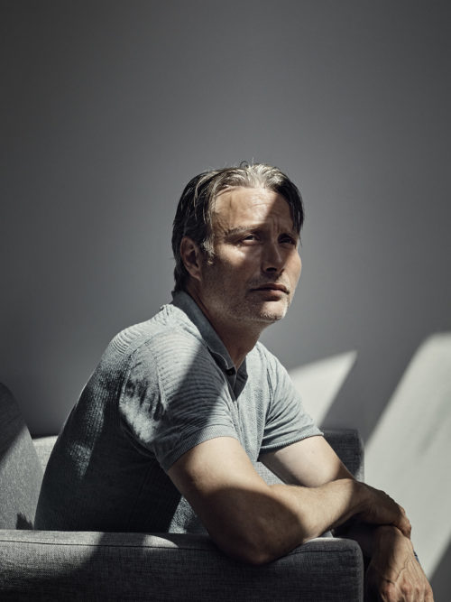 Mads Mikkelsen, Danish actor. Cannes 2017.