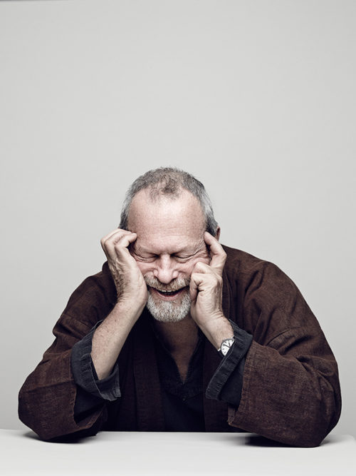 Terry Gilliam, American-born British screenwriter, film director, animator, actor, comedian and member of the Monty Python comedy troupe.