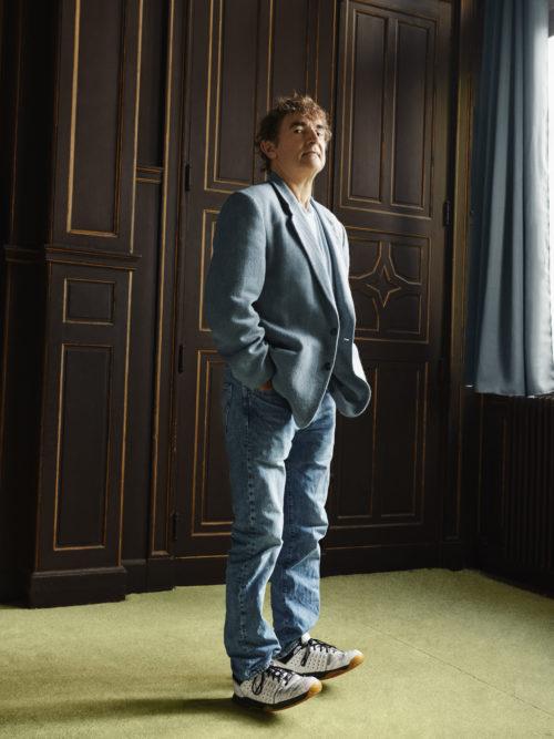 Albert Dupontel, french director and actor, Paris 2020.