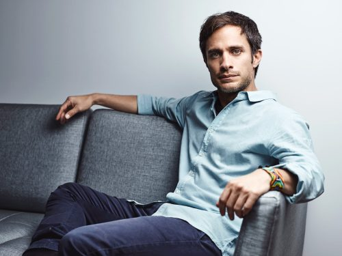 Gael García Bernal,  Mexican film actor, director, and producer. Cannes 2016.