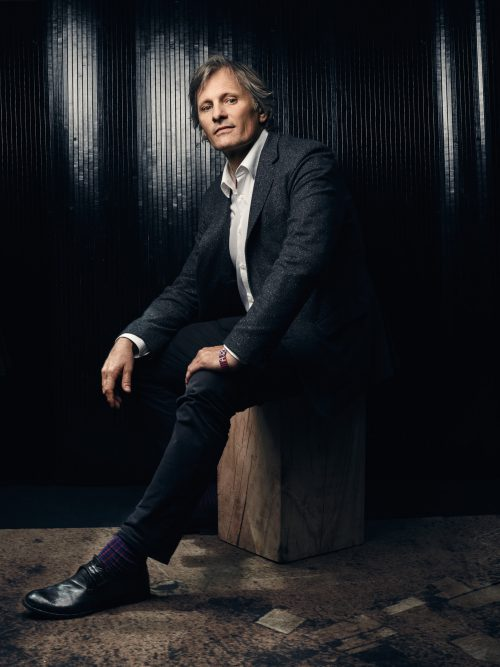 Viggo Mortensen, Danish-American actor, poet, musician, photographer and painter. Cannes 2016.