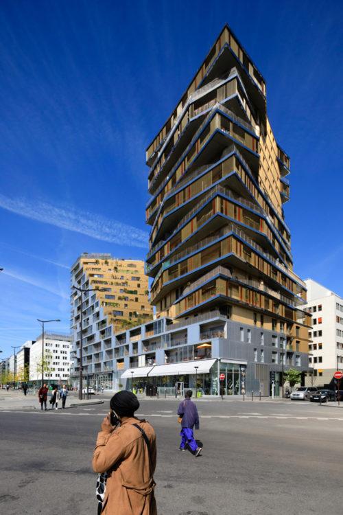 Le nouveau Paris, le Quartier de la Gare. New Paris, the Quartier de Gare district.