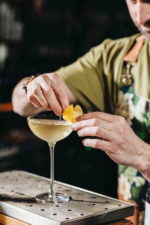 Cocktail Paragon au Mary Céleste