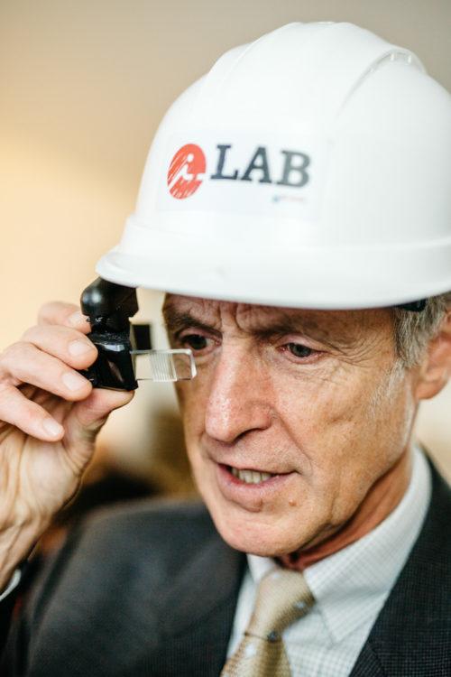Visite du ILAB par le CCA Air Liquide