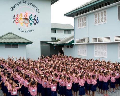 Toutes à l'école