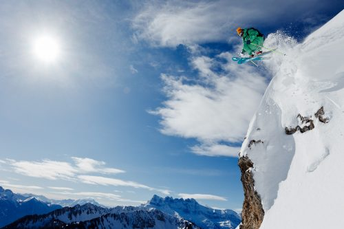Ski freeride à Châtel avec Nicolas Cruz-Mermy