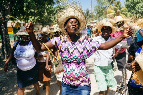 Marche des femmes à Hinche