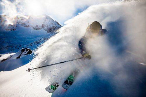 Ski freeride à Arêches-Beaufort