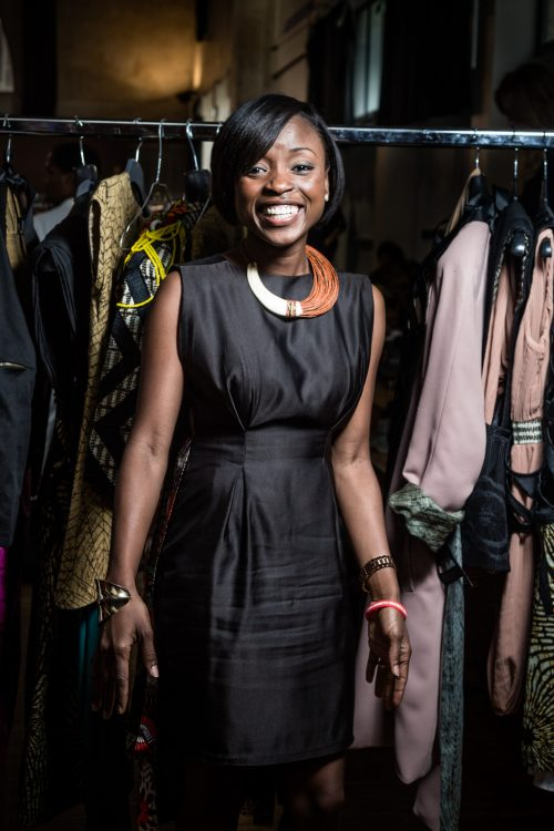 Aisha Obuodi de Chistie Brown au Labo Ethnik Fashion Week End 20