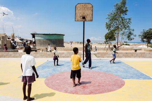 La cité de l'Eternel à Port-Au-Prince, Haïti.