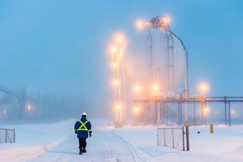 Air Liquide près de Montreal site usine HydrogenAL à Bécancour