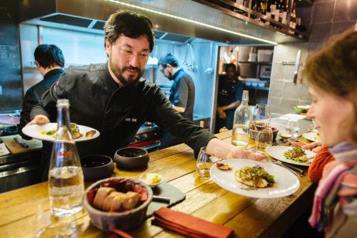 Le restaurateur Pierre Sang