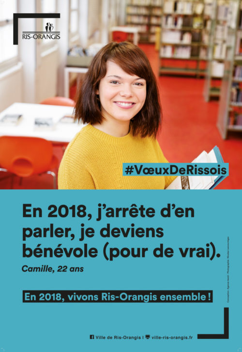 Wishes campaign of Ris-Orangis city #VœuxDeRissois