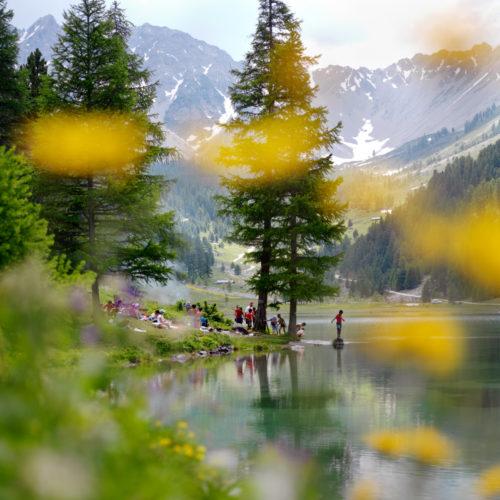 Lac de l'Orceyrette, Briançonnais