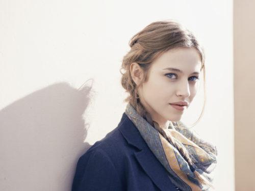 Lou de Laâge,French actress. Paris 2013.