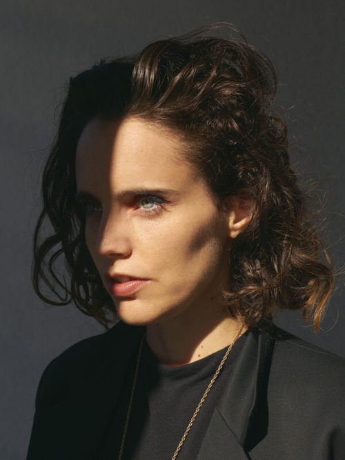 Anna Calvi English singer-songwriter and guitarist. Paris 2019.
