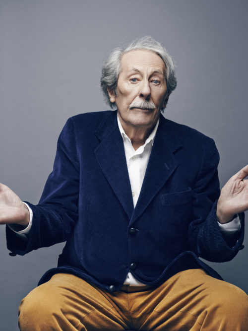 Jean Rochefort French actor, Paris 2015.