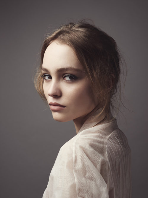 Lily-Rose Depp French-American actress and model. Cannes 2016.