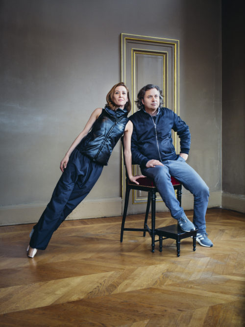 Ludmila Pagliero et Charles Pépin