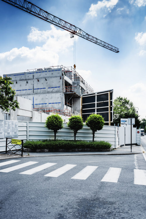 Chantier Bouygues Construction