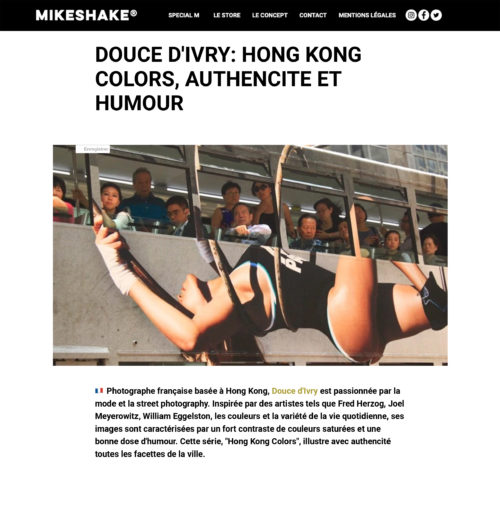 HONG KONG COLORS : AUTHENCITÉ ET HUMOUR, PAR DOUCE D'IVRY